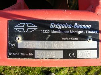 Cover crop Gregoire Besson COVER CROP XPRN - 3