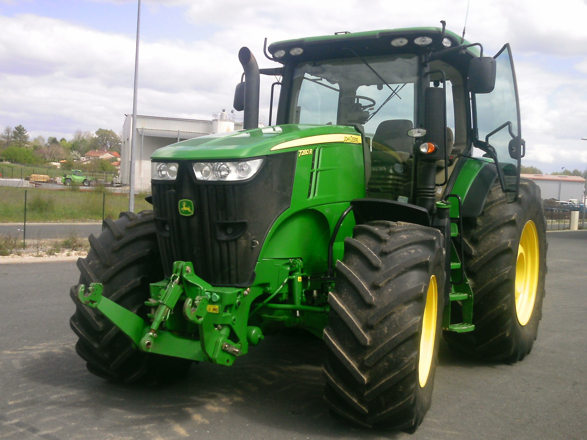 tracteur agricole john deere 7280r vendre sur guenon. Black Bedroom Furniture Sets. Home Design Ideas