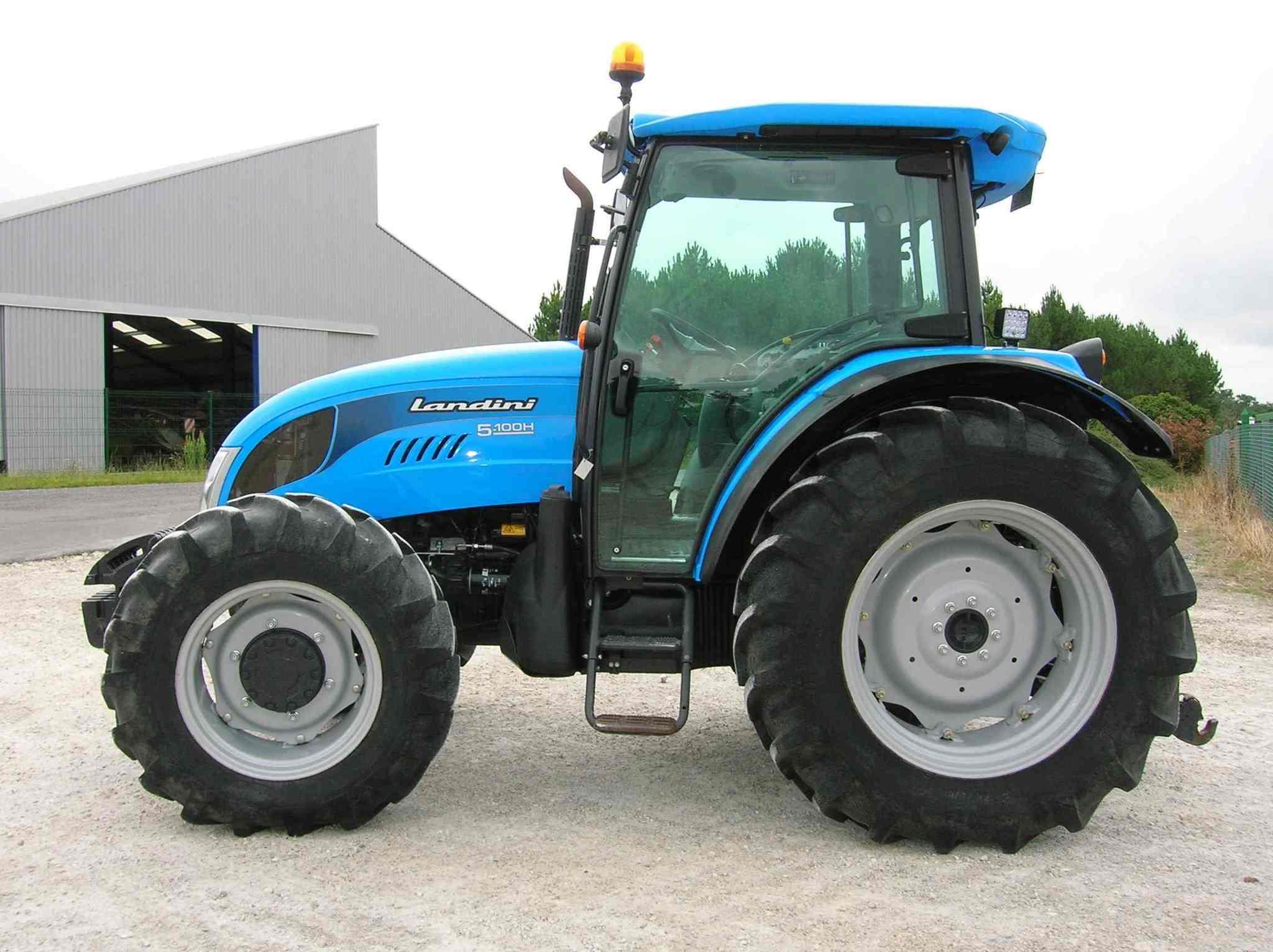 roues de tracteur agricole - photo #3
