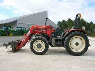 Tracteur agricole New Holland TL90 CHARGEUR - 1