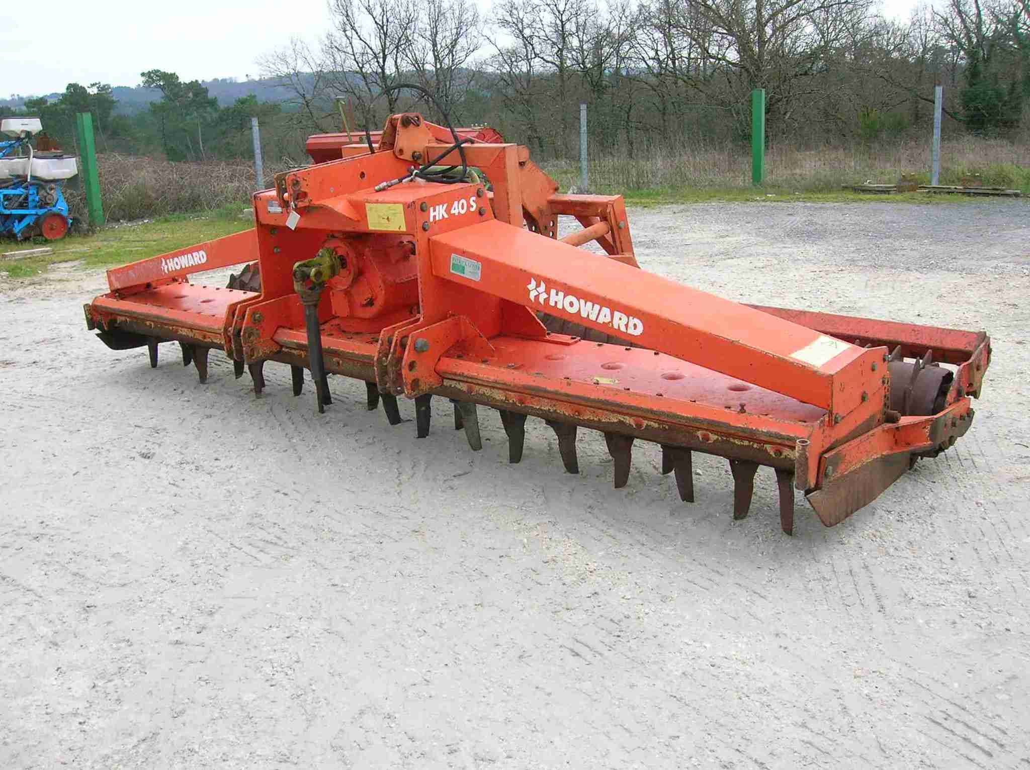 Herse rotative Howard HERSE ROTATIVE HR40 - 1